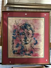 Sale 8811 - Lot 2058 - Artist Unknown - Portrait of a Young Boy ink and watercolour on paper