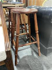 Sale 8901F - Lot 1088 - Pair of Timber Stools