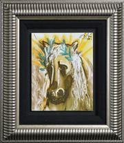 Sale 8112A - Lot 13 - Salvador Dali (1904 - 1989) After. - The Horse Of Spring 25 x 20cm