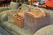 Sale 8129 - Lot 1099 - Collection Of Baskets and Hampers