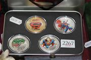 Sale 8169 - Lot 2267 - Superman Plated Coin Set