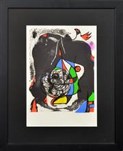 Sale 8282A - Lot 79 - Joan Miro (1893 - 1983) - Revolution II 36.5 x 25.5cm