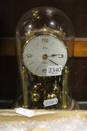 Sale 8327 - Lot 41 - Glass Dome Clock