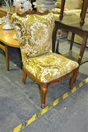 Sale 8165 - Lot 1086 - Fabric Covered Side Chair