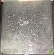 Sale 8418 - Lot 1011 - Large Etched Glass Panel Depicting Eagle
