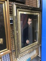 Sale 8794 - Lot 2063 - Artist Unknown - Portrait of a Gentleman, oil on canvas, frame a/f -