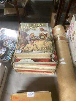 Sale 9101 - Lot 2225 - 6 Childrens Books incl The Boys Budget & Jingles Annual 1938