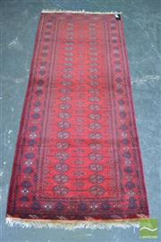 Sale 8406 - Lot 1189 - Afghan Bokhara Runner (190 x 80cm)
