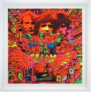 Sale 8459 - Lot 519 - Martin Sharp (1942 - 2013) - Disraeli Gears - Record Cover 89 x 88cm