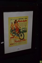 Sale 8569 - Lot 2083 - Malvern Star Print
