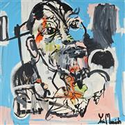 Sale 8853A - Lot 5009 - Yosi Messiah (1964 - ) - Wilderness 102 x 102cm
