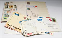 Sale 9173 - Lot 85 - A collection of stamps inc folder