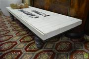 Sale 8507 - Lot 1020 - Rustic Timber Bench