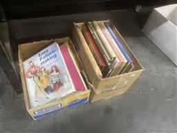 Sale 9106 - Lot 2453 - 2 Boxes of Books on Sewing incl Phyllis Hoffman Easy Pattern-Making 1994 Corroboree Press