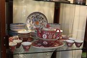 Sale 8217 - Lot 118 - Chinese Dinner Set & an Italian Hand Painted Dinner Set