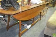 Sale 8272 - Lot 1075 - Large Dropside Table