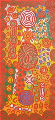 Sale 8288A - Lot 72 - Maisie Campbell Napaltjarri (XX) - My Country 127 x 59cm