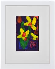 Sale 8389 - Lot 516 - Kevin Charles (Pro) Hart (1928 - 2006) - Flower 13 x 8.5cm