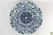 Sale 8572 - Lot 81 - Large Blue And White Xuande Style Charger