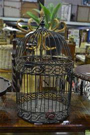 Sale 8566 - Lot 1646 - Small Budgie Cage