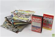 Sale 8618 - Lot 28 - State Of Origin Magazine Collection Together With NRL VCRs