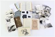 Sale 8952 - Lot 89 - Miltary Ephemera Incl German 1880s Military Pass To Thurigen Infantry, Photos And Stamps With Others Incl WWII Bible