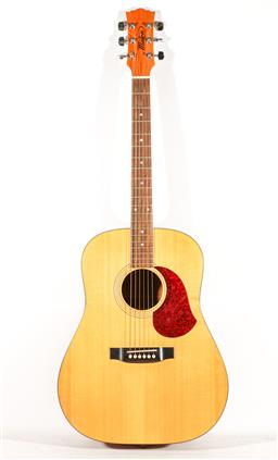Sale 9192 - Lot 22 - A Maton Australia Hand Made Acoustic Guitar M400 Natural Series serial number 794 (1293) in road case