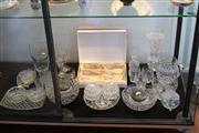 Sale 7953 - Lot 50 - Collection of Crystal Ware incl Trinket Boxes