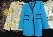 Sale 7982B - Lot 35 - Louis Feraud, collection of four jackets circa 1980s