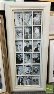 Sale 8491 - Lot 2052 - White Painted Photo Frame