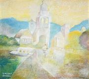 Sale 8583 - Lot 596 - Vincent Brown (1901 - 2001) - Sibenik, Yugoslavia 36.5 x 41.5cm