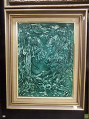 Sale 8561 - Lot 2021 - Winfield, Abstract, oil on board, 60 x 44cm, SLR