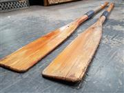 Sale 8769 - Lot 1006 - Pair of Vintage Oars