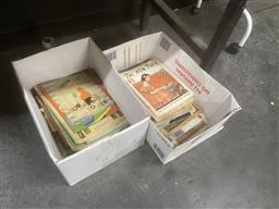 Sale 9106 - Lot 2454 - 2 Boxes of Early The New Idea Papers with Other Ephemera, mainly regarding sewing