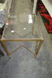 Sale 8093 - Lot 1335 - Brass Side table