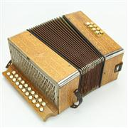Sale 8413 - Lot 89 - Hohner Twenty-One Button Accordion