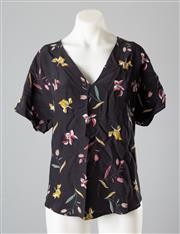 Sale 8661F - Lot 73 - A Country Road printed viscose top, size 10