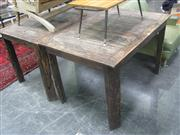 Sale 7933A - Lot 1186 - Rustic Kitchen Table
