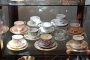 Sale 7953 - Lot 94 - Assorted Trios and Plates incl Paragon, Tuscan, etc