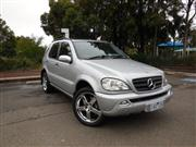 Sale 7379B - Lot 100 - 2003 Mercedes Benz ML350 Luxury Pack Silver with Black Leather  VIN No: WDC1631572A462517 ENG No: 11297031570892 136,000 KMS...