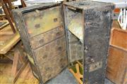 Sale 8161 - Lot 1031 - Large Rustic Traveling Trunk