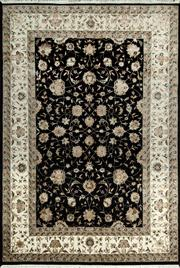 Sale 8370C - Lot 70 - Jaipor Silk & Wool 165cm x 240cm