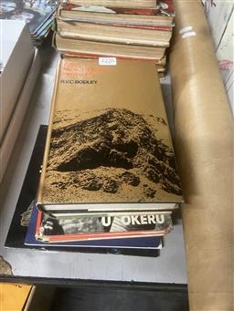 Sale 9101 - Lot 2226 - 6 Volumes incl. Simpson, C. Adam U Okeru; Seven Tribes of British Central Africa, ed. E. Colson, 1961; Bodley, R.V.C. The Sound...