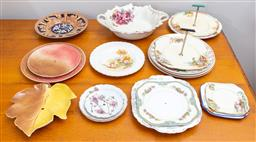 Sale 9103M - Lot 733 - A collection of ceramic plates including Meakin, mainly dinner plates and sandwich plates, approx 20 pieces