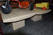 Sale 8013 - Lot 1286 - Pair of Composite Coffee Tables