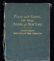 Sale 8309 - Lot 581 - PORTFOLIO: FISH AND GAME FOR THE STATE OF NEW YORK