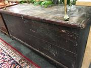 Sale 8740 - Lot 1484 - Painted Lift Top Trunk