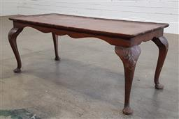 Sale 9188 - Lot 1431A - Timber coffee table (h:43 x w:106 x d:45cm)