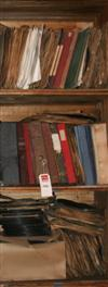 Sale 7670A - Lot 1032 - Three crates of 78rpms in a vertical stack