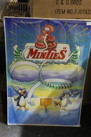 Sale 8326 - Lot 1092 - Original Advert Drawing Minties